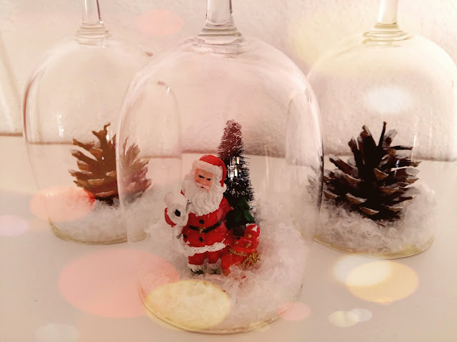 diy bougeoir noel