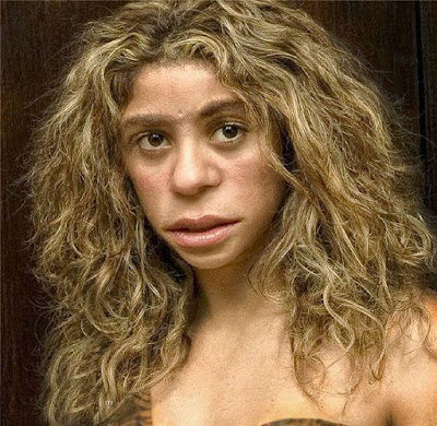 young adult Neanderthal female