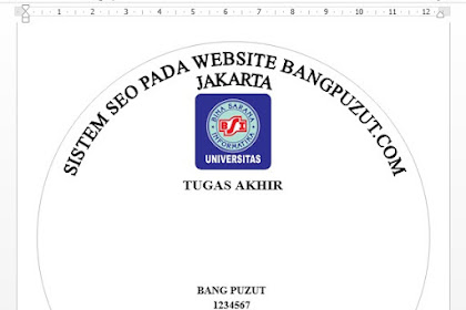 Download File Stiker CD Skripsi BSI Siap Cetak - Universitas Bina Sarana Informatika
