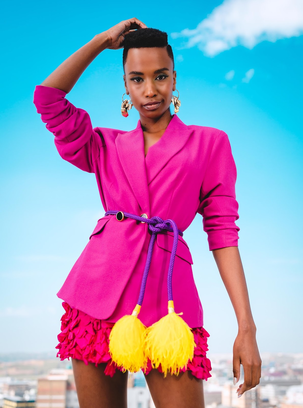 Shop Zozibini Tunzi's Head-turning COSMO Cover Looks Right Here