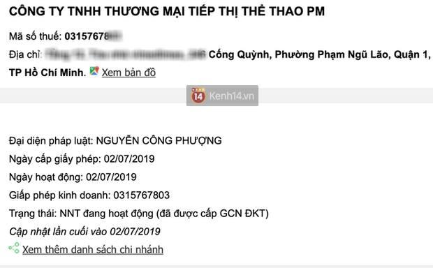 Công Phượng thành lập công ty về tiếp thị thể thao, Viên Minh giữ chức vụ Quản lý