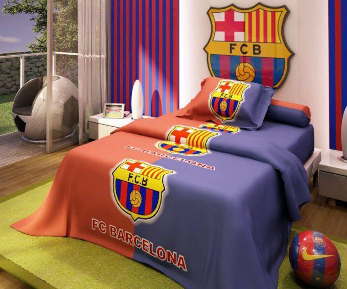Manchester United Logo Wallpaper 3d Desain Kamar Tidur Bertemakan Barcelona Yang Keren Rumahku
