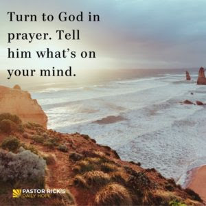How Do You Get God's Peace? by Rick Warren