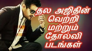 Thala Ajith Blockbuster Hits & Flop Movies