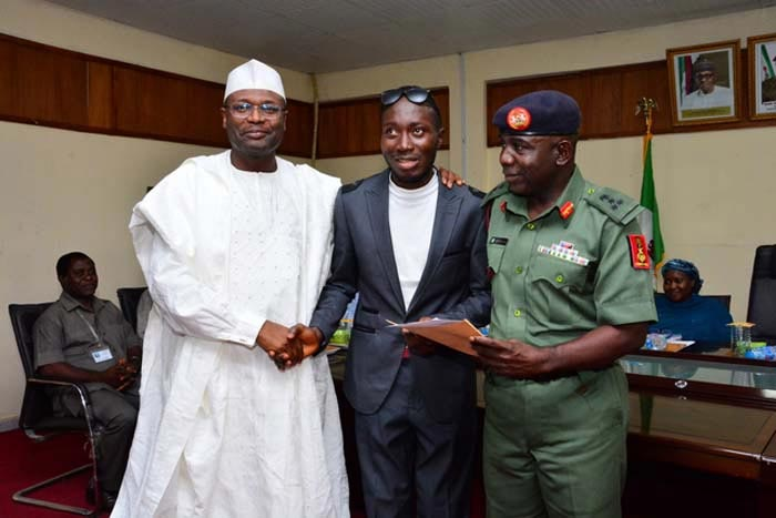 INEC employs NYSC member who lost his sight during 2011 elections