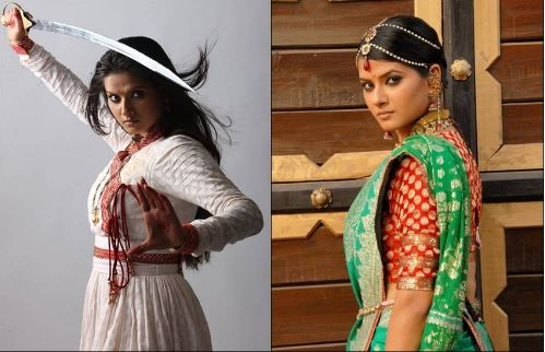 these actresses play the role of jhansi ki rani- back to bollywood
