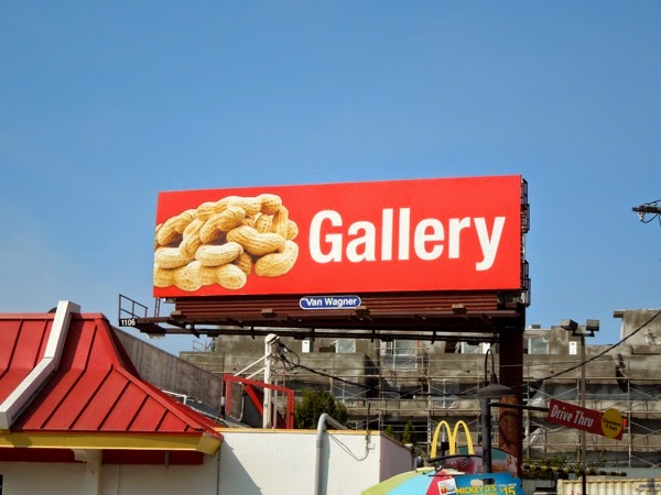 Peanut Gallery billboard