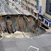 (Video) Lubang Gergasi Muncul Di Tengah Bandar Jepun