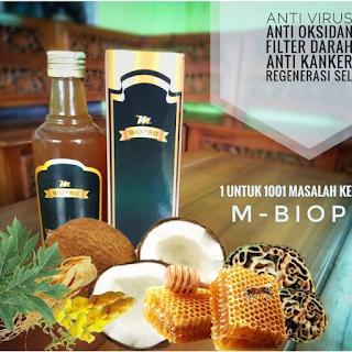 M Biopro 100% Original BPOM Obat Herbal Probiotik Obat 1001 Macam Penyakit