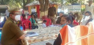 विवाद वाले गांवों में पुलिस की है पैनी निगाहें  | #NayaSaberaNetwork