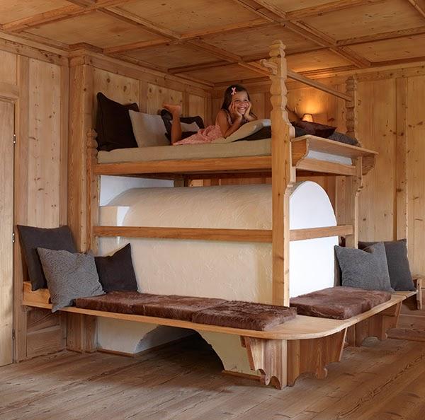 Log Home Decor Ideas: Log Cabin Interiors Design Ideas