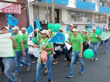 Actividades de La Juventud CGTP Conmemorando el Día Internacional de la Juventud.