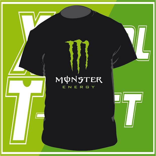 T-shirt Maglietta Personalizzata - Monster Energy