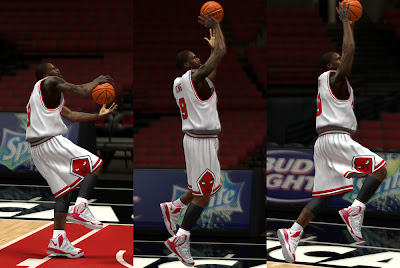 NBA 2K13 Nike Air Max Hyperaggressor Shoes Luol Deng