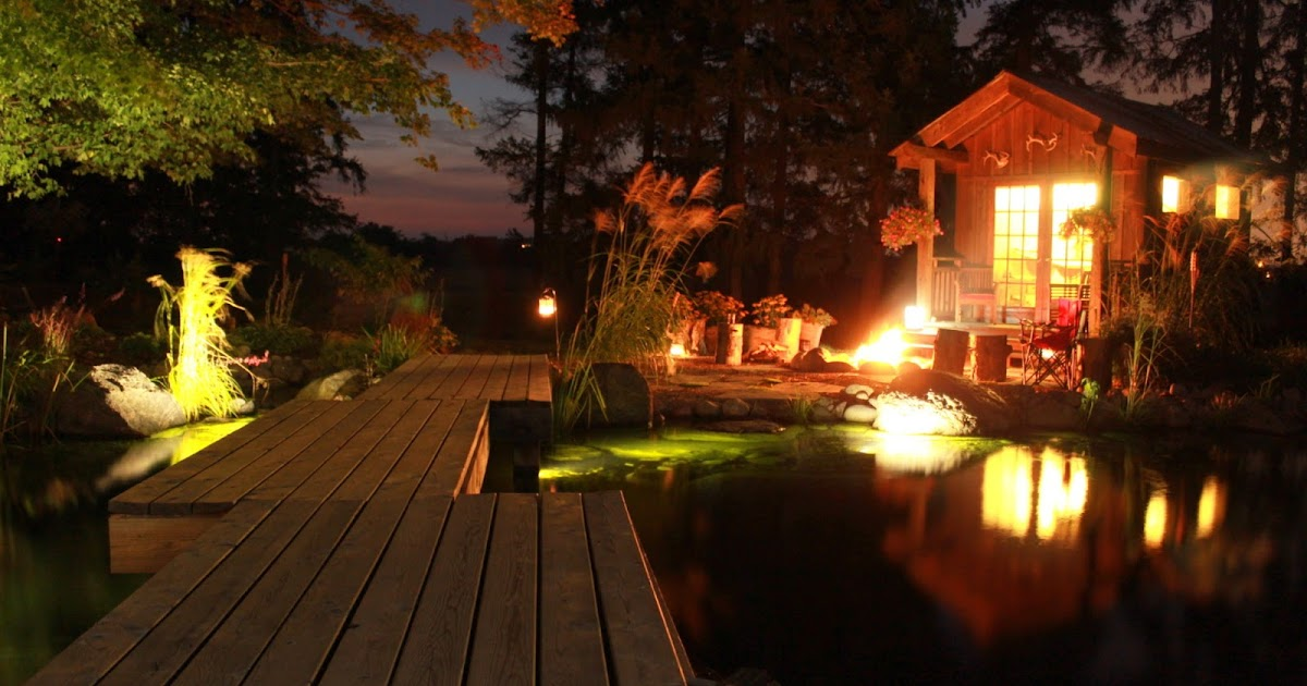 Create Appeal & Functionality With Landscape Lighting and Patio
