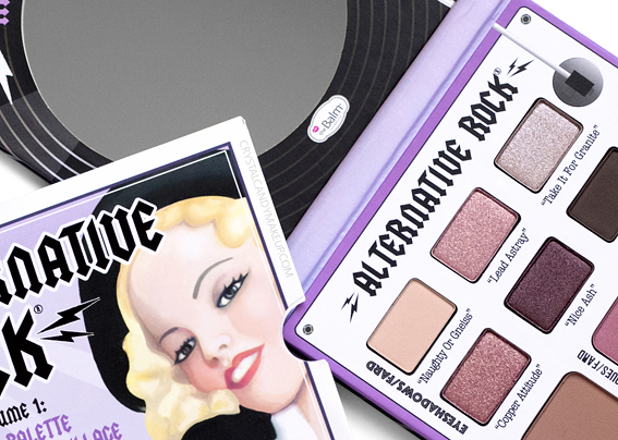TheBalm Alternative Rock Vol 1 Face Eyeshadow Palette Review