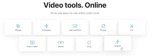 Cara Mempercepat Video Online dengan Clideo