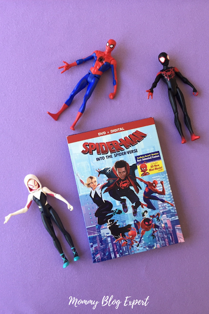 SpiderMan Into the SpiderVerse Licensed Super Hero Figures by Hasbro