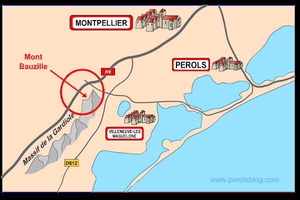 Mont Bauzille - Massif de la Gardiole