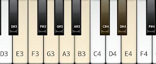Neapolitan scale on key E