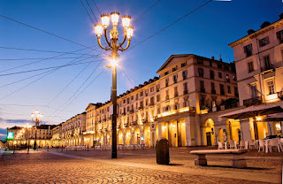 Turin is renowned for its elegant squares and a thriving coffee house culture