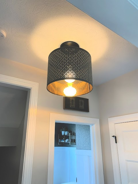 large lamp shade pendant