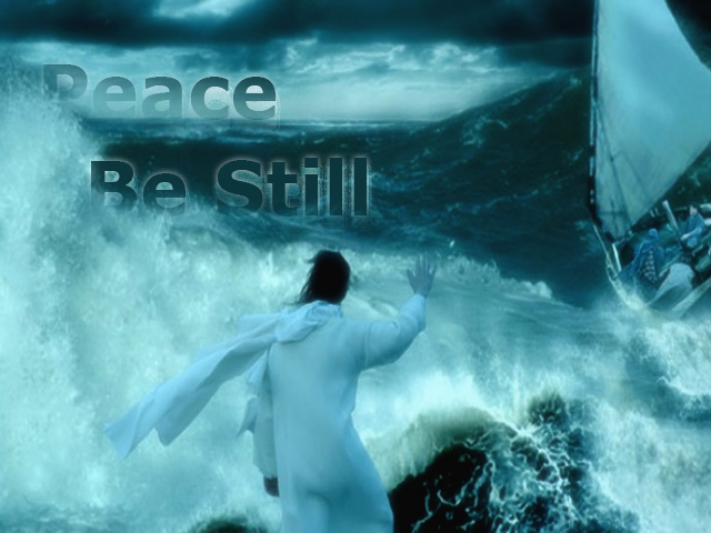 Jesus Calm the Sea, Peace Be Still
