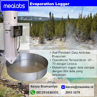 Evaporation Data Logger