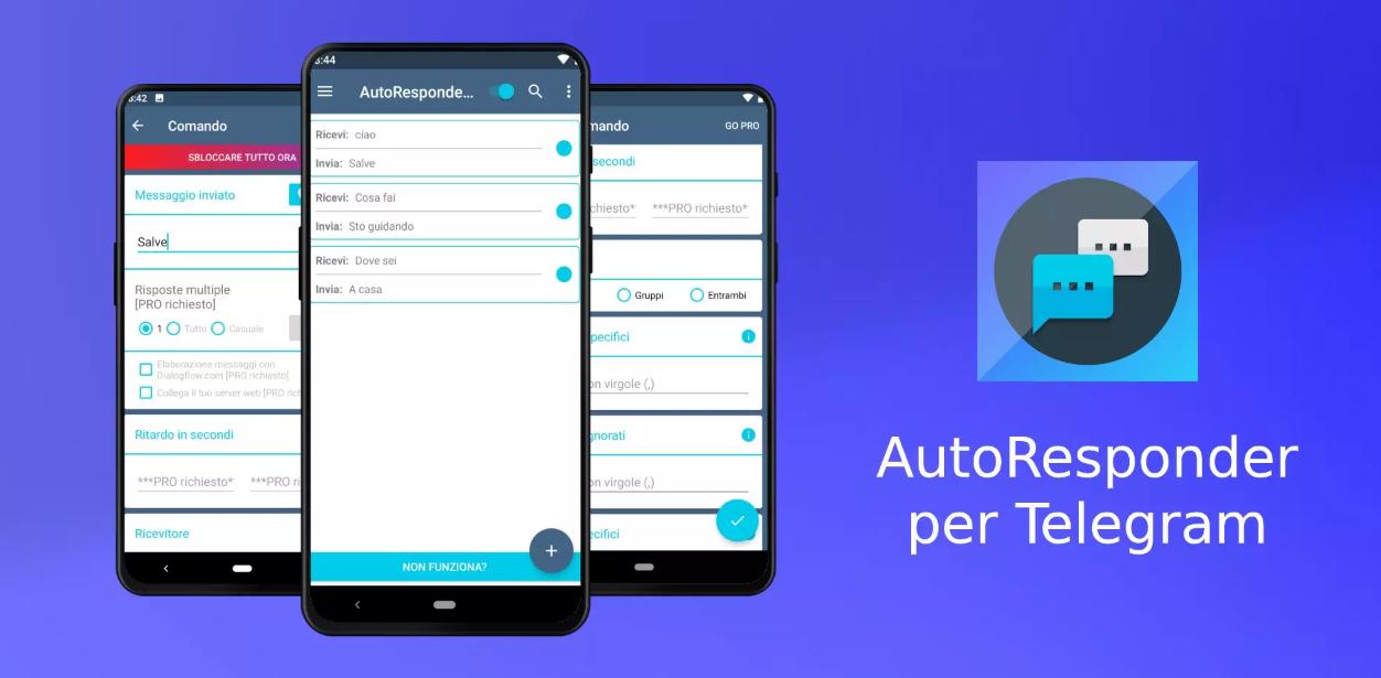 جديد التطبيقات: AutoResponder الذي يُوفّر معه خاصية الرد التلقائي على تيليجرام
