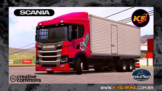 SCANIA P320 - GRIFFIN RED (ROMEU E JULIETA)