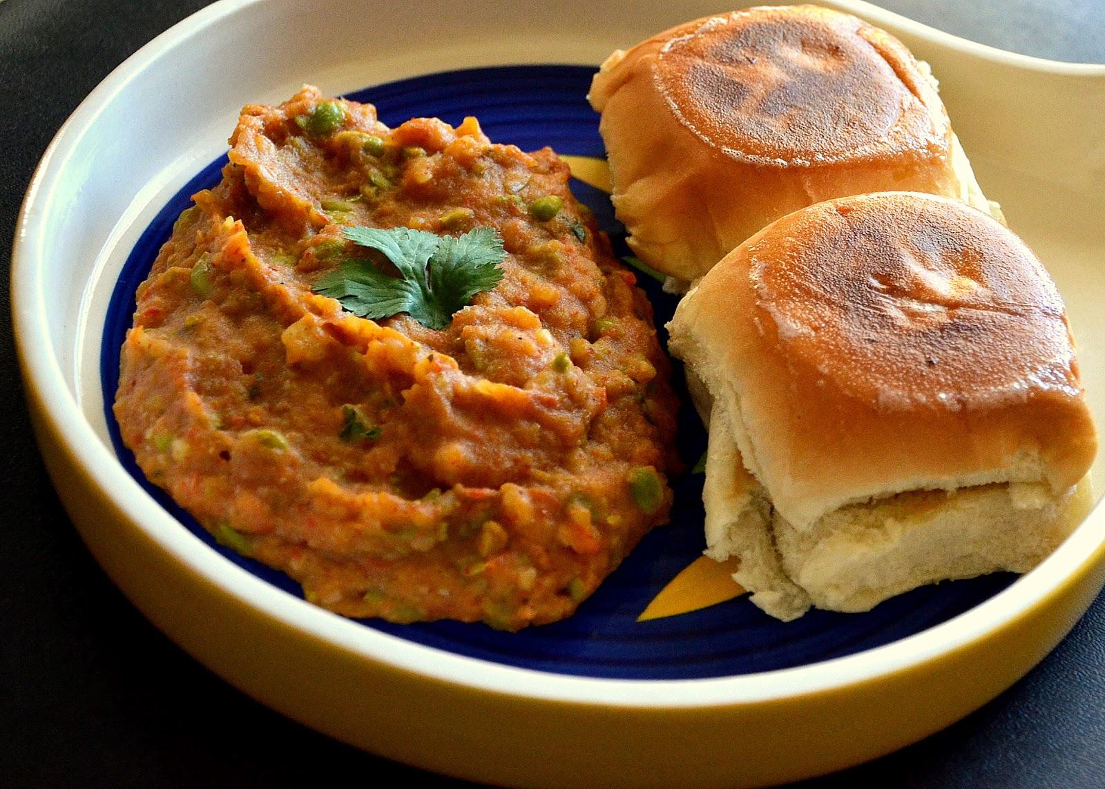 Spice Junction Pav Bhaaji Indian Street Food