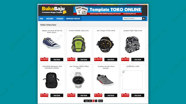 bukabaju blogger template