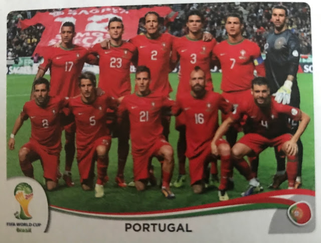 Figurina Portogallo, Album Brasile 2014