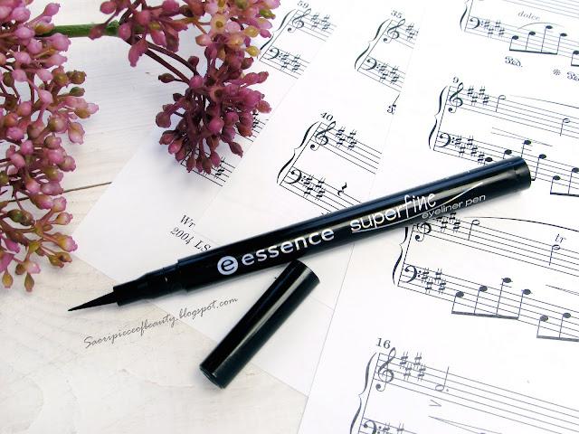 Superfine Eyeliner Pen от Essence или как возненавидеть стрелки / блог A Piece of Beauty