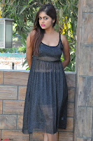 Pragya Nayan New Fresh Telugu Actress Stunning Transparent Black Deep neck Dress ~  Exclusive Galleries 027.jpg
