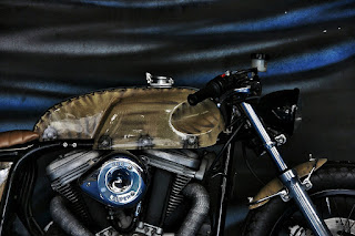 the patriot 2 buell ulysses cafe racer by studiomotor engine and tank