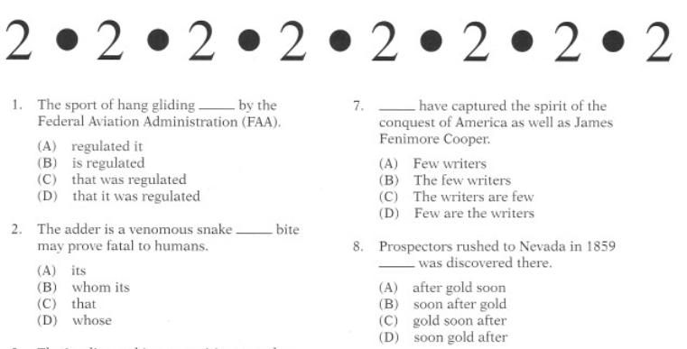 Toefl itp practice test with answers pdf dissertation sur la productivite