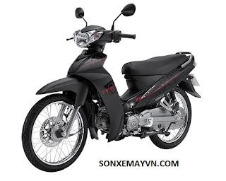 Bán Sơn xe máy YAMAHA SIRIUS màu đen