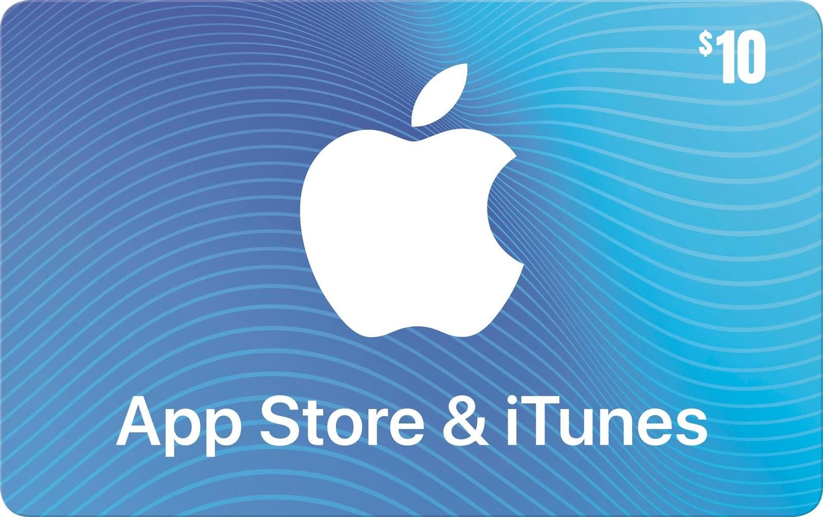 Apple - $10 Itunes Gift Card