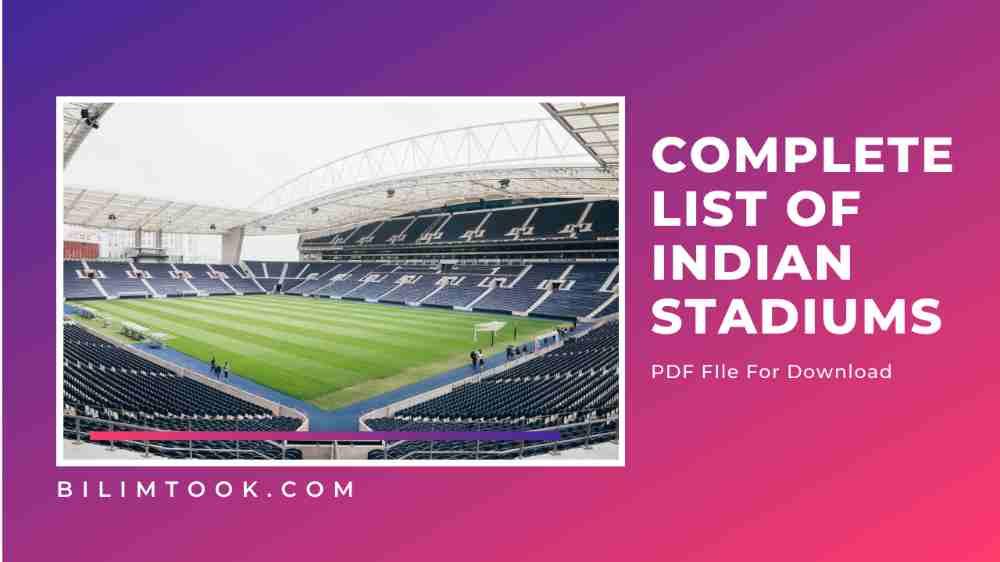 List of Important Stadium in India
