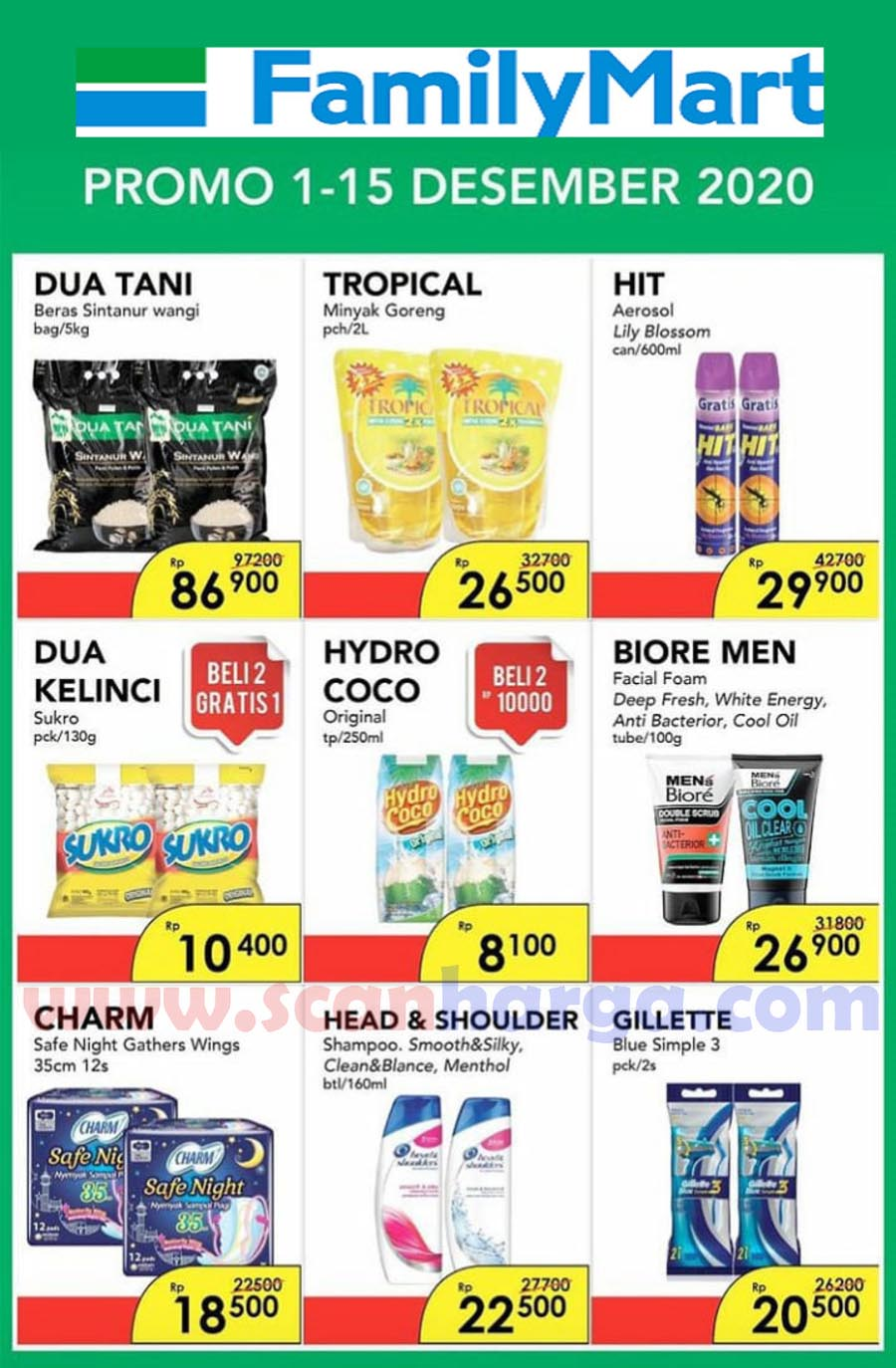 Katalog Promo Family Mart Periode 1 - 15 Desember 2020 1