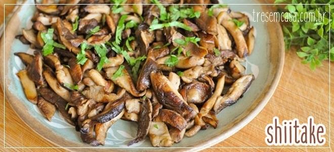 receita de shiitake