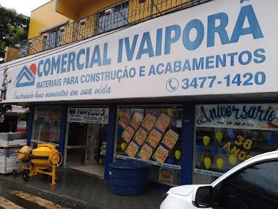 Ladrões armados assaltam Comercial Ivaiporã em São João do Ivaí