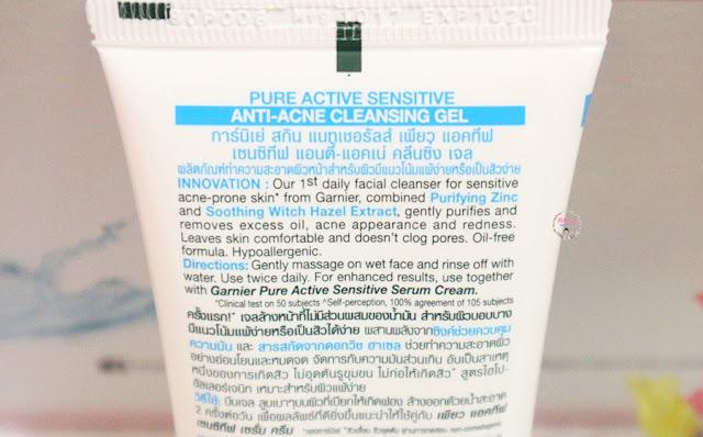 Atasi Masalah Kulit Sensitif Berjerawat dengan Garnier Pure Active Series