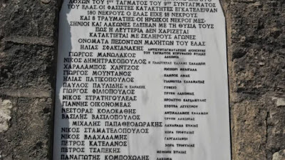 Εκδήλωση μνήμης των πεσόντων στην Μάχη της Χώρας