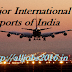 Major International Airports of India :