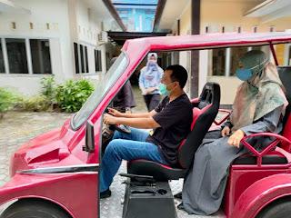 Mobil Listrik SMKN 1 Lingsar, Gubernur Berharap Bisa Digunakan di Destinasi Wisata