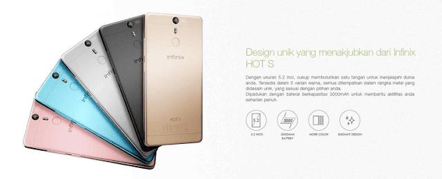 Harga & Spesifikasi Infinix Hot S X521
