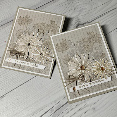 Card ideas using Daisies from the Stampin' Up! daisy Garden Stamp Set