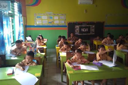 Hasil PAS Kelas 2 Tema 4 Semester I SDN 1 Babat.